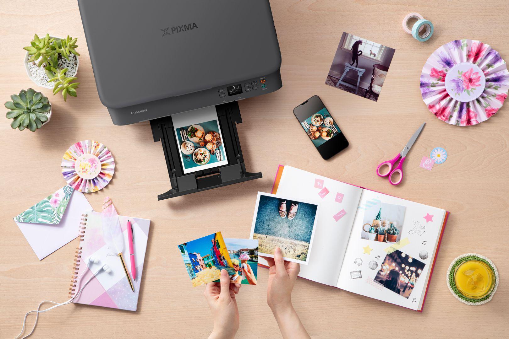 Canon Pixma TS5350: Drucken mit Stil?