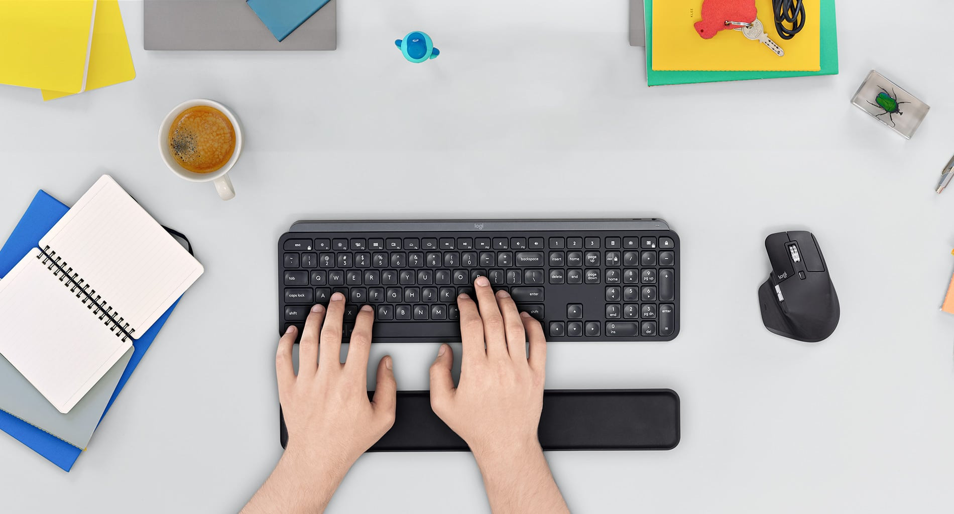 Logitech MX Keys: Drahtlos, schön und praktisch!