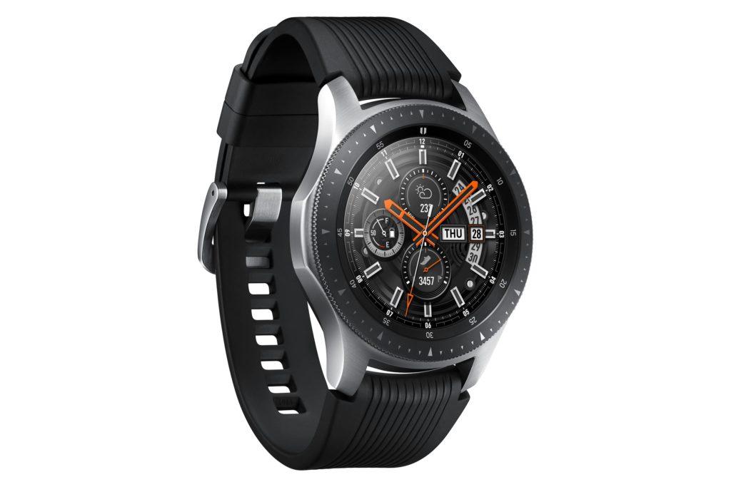Samsungs Konkurrenzprodukt für die Apple Watch Series 4 ist die Galaxy Watch. Doch die Unterschiede liegen nicht nur im Design der Uhren...